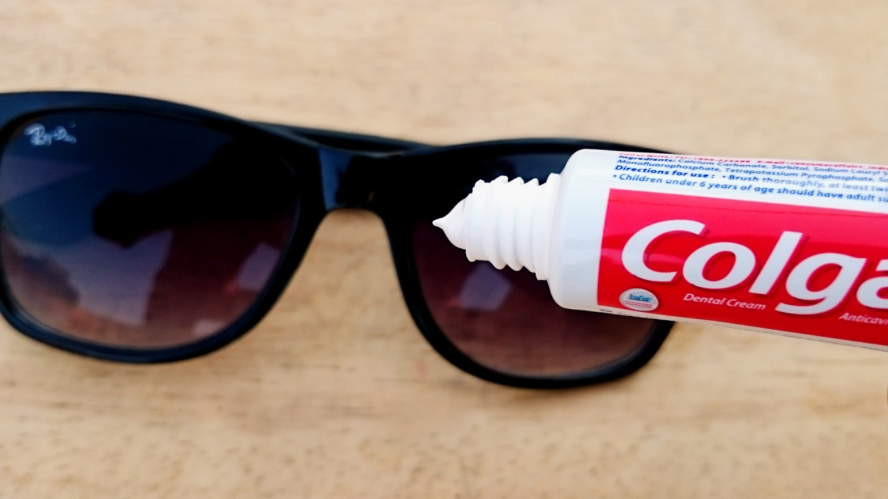 How To Use Toothpaste To Fix Scratched Glasses Xcleaning