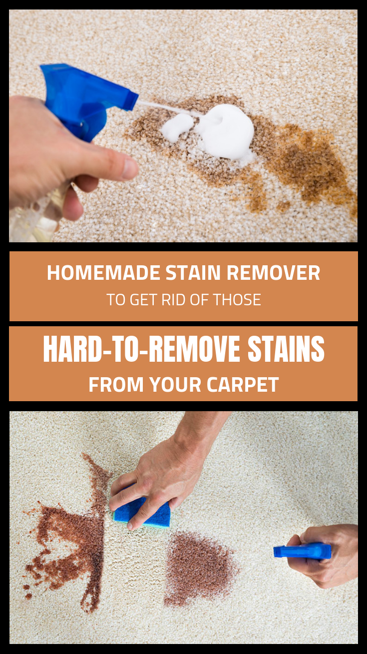 Homemade Stain Remover To Get Rid Of These Hard To Remove