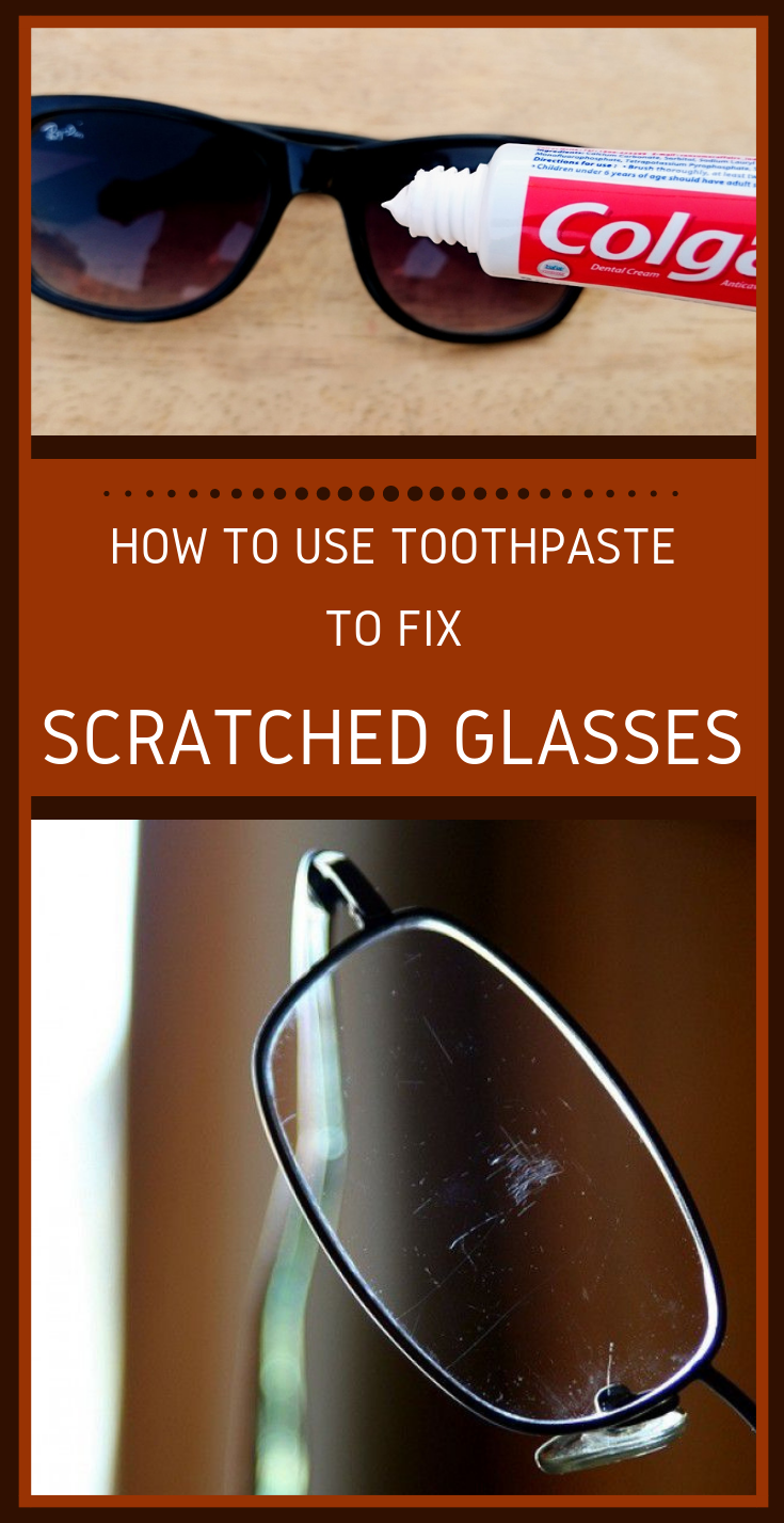 How To Get Rid Of Scratches On Glasses >> How To Use Toothpaste To Fix Scratched Glasses | xCleaning.net - Your Cleaning Tips