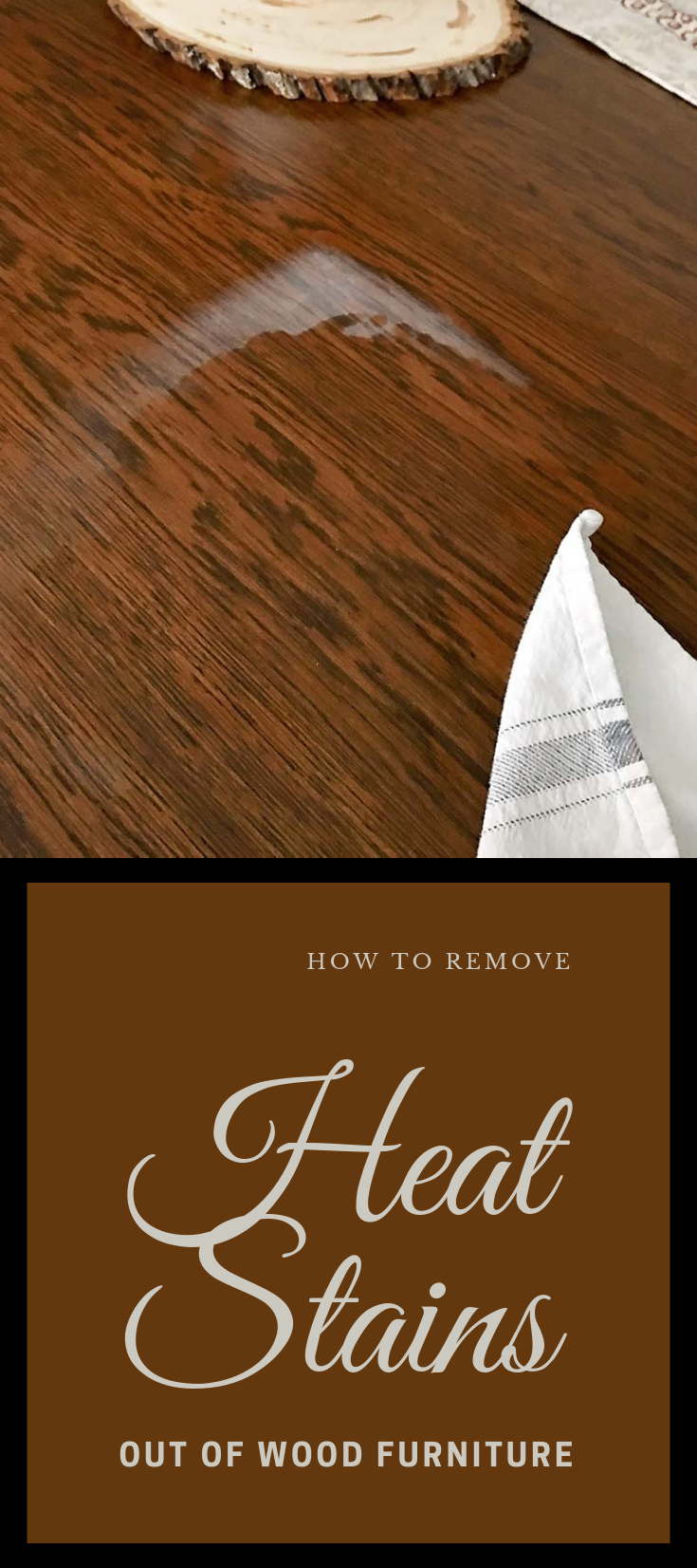 How To Remove Heat Stains Out Of Wood Furniture