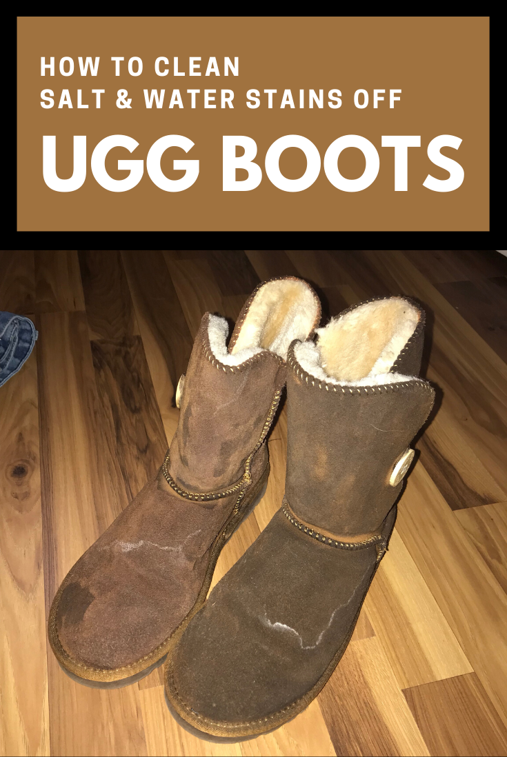 How To Clean Salt And Water Stains Off Ugg Boots