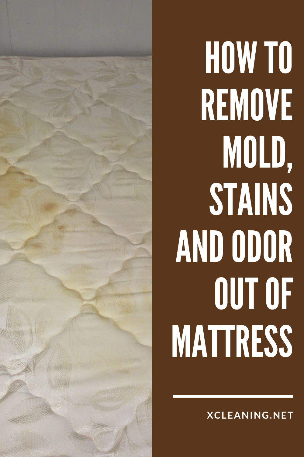 How To Remove Mold, Stains And Odor Out Of Mattress