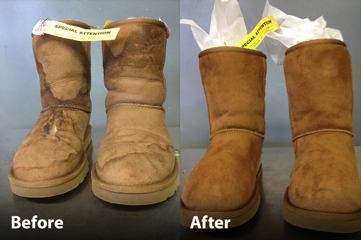what to do if uggs get wet