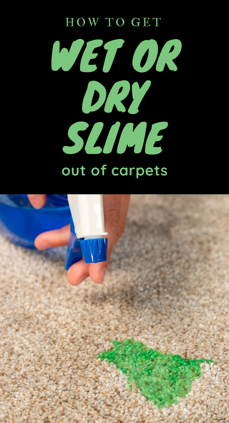 How To Get Wet Or Dry Slime Out Of Carpets Xcleaning Net Your Cleaning Tips