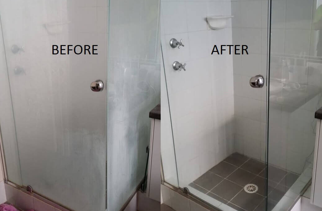 What Happens If You Smear The Glass Shower Doors With
